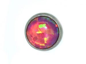 carmine cabochon Opal Flat Attachment3
