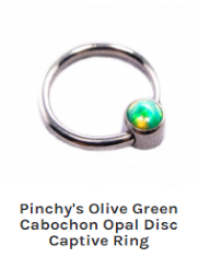 Pinchys-Olive-Green-Cabochon-Opal-Disc-Captive-Ring.